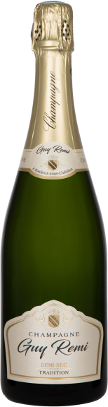 Champagne Guy Remi - Cuvée Demi Sec Tradition